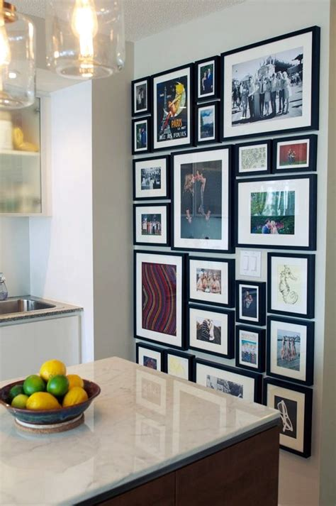recipe collage kitchen wall feature wall ideas 40 best family picture wall decoration ideas