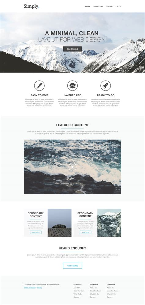 homepage template html how to code a homepage template with html5 and css3