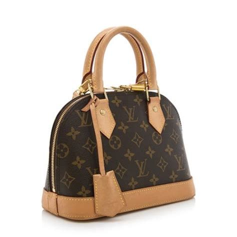 louis vuitton monogram canvas alma bb shoulder bag