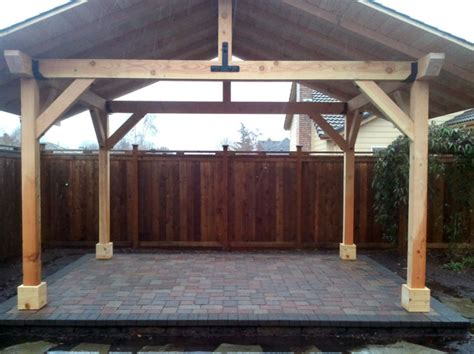 wood structures dominion landscape eugene springfield or