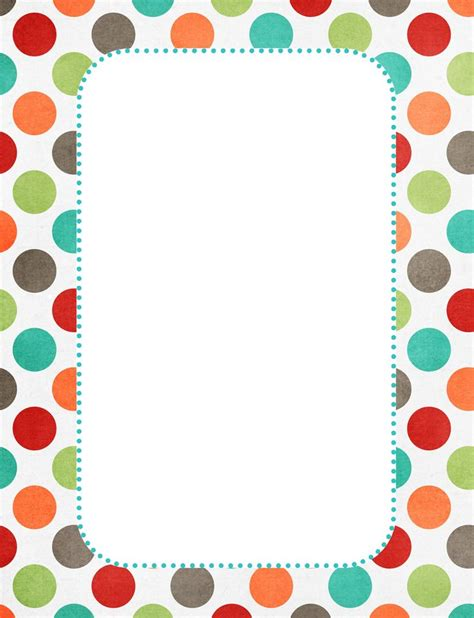 dot pattern border 1000 ideas about page borders on pinterest borders free