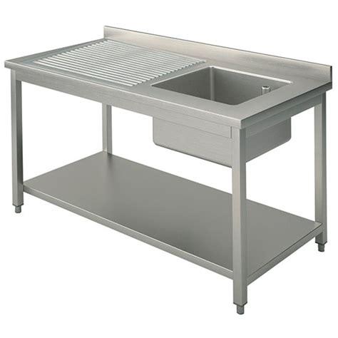 lavello industriale lavello 1 vasca a destra con gocciolatoio per cucine