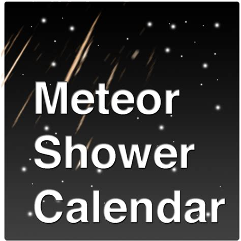 Meteor Shower Tracker meteor shower calendar mobile app the best mobile app awards