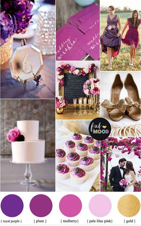 gold wedding colors purple and gold wedding color palette royal purple plum