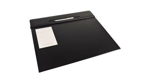 grain leather desk pad desk pad blotter croco grain leather desk pad small 3