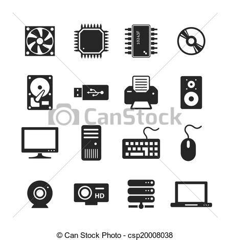 imagenes libres hardware dibujos de hardware computadora iconos computadora