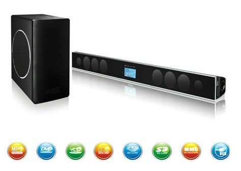 2 1 home theatre system speaker sound bars system for tv