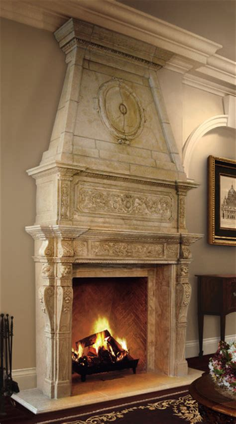bordeaux mantel with overmantel traditional living