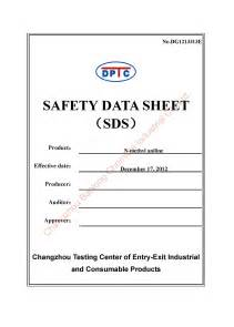Safety Data Sheet Template by Safety Data Sheet Template Out Of Darkness
