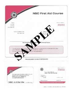 National Safety Council Cpr Card Template by National Safety Council Cpr Aed Aid Classroom