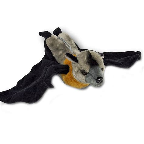 flying fox fruit bat soft plush toy jett cm