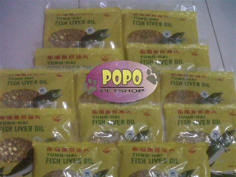 Minyak Ikan Tung Hai minyak ikan popo petshop