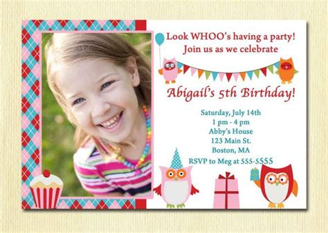 years  birthday party owl birthday parties