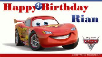 Cars Birthday Banner Template by 8 Best Images Of Cars 2 Printable Birthday Cards Disney