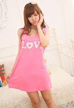 Piyama Pajamas Sleepshirt Daster Cotton Japan s sleepwear micro polar fleece nightgown medium