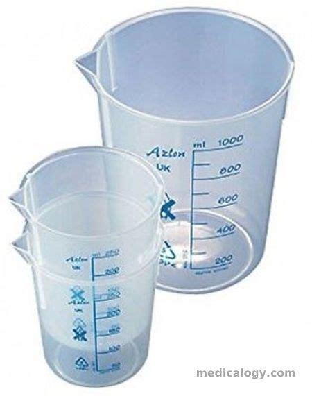 Harga Pipet Volume 50 Ml jual gelas ukur plastik azlon printed graduation 50 ml isi