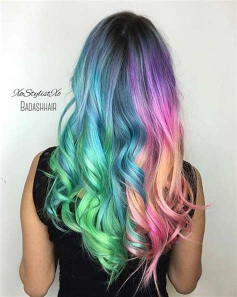 with colorful hair 31 colorful hair looks to inspire your next dye page