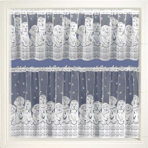 Lace Cafe Curtains Sheer Voile Lace Cafe Net Kitchen Bathroom Tier Curtain Sold By The Metre Ebay