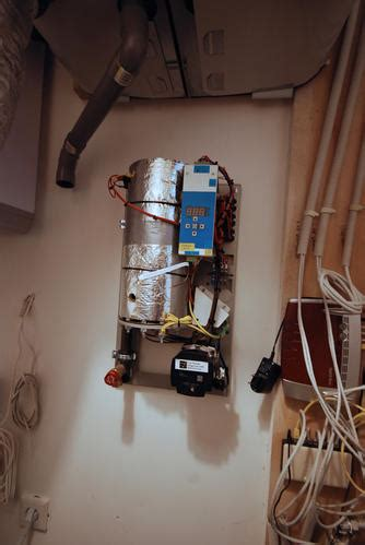 Vloerverwarming Elektrisch Of Water by Aansluiten Elektrische Cv Op Vloerverwarming Water