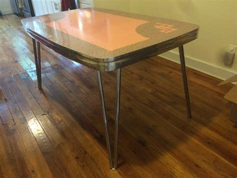 price drop vintage formica kitchen table in greenwood