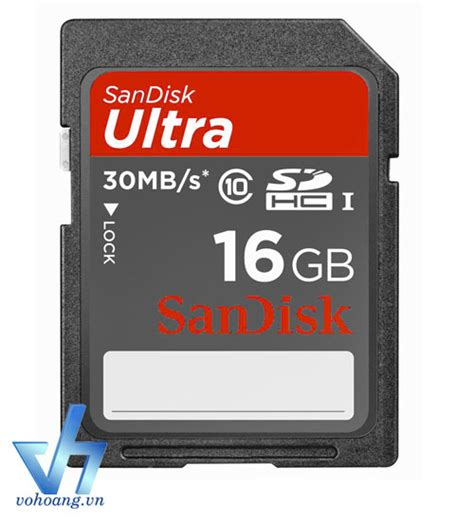 Flashdisk Sandisk 16gb Class 10 sdhc sandisk ultra 16gb class 10 vohoang vn