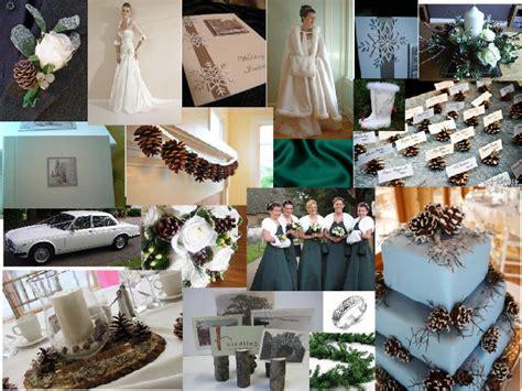 April Wedding Ideas by Winter Woodland Wedding Ideas April 2011 Pantone Wedding