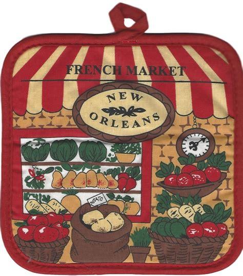 To Market Recap Pot Holders by Market Veggie Pot Holder