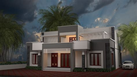 contemporary kerala model home plans