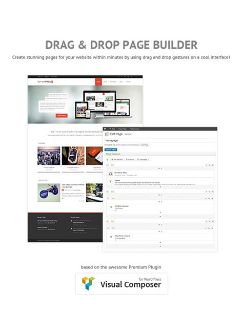 themes with page builder wp architects 187 sympathique responsive wordpress theme