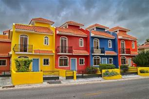 colorful house colorful houses in the republic photograph by
