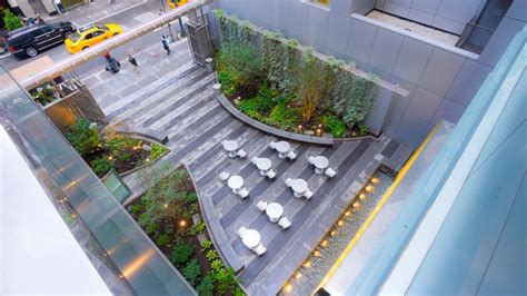 Office Furniture Blogs new yorkers can now enjoy a new pocket park oasis with