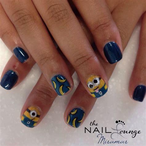 nail painting for toddlers minions gel nail nail the nail lounge miramar