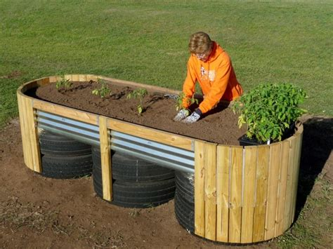 over 20 ways how and where you can create a raised bed