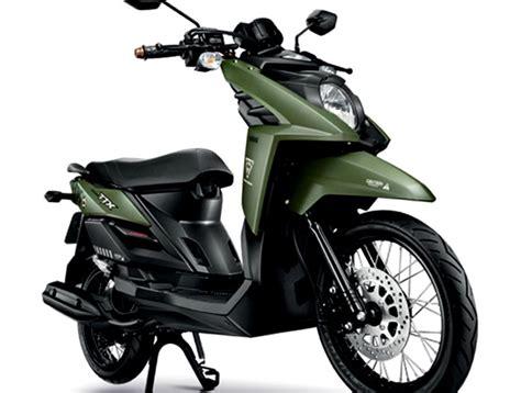Lu Yamaha X Ride yamaha ttx army green