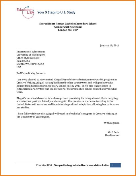 School Admission Enquiry Letter Sle college application letter of recommendation sle 28 images college application letter