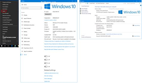 windows 10 control panel tutorial open system from win x to control panel or settings in