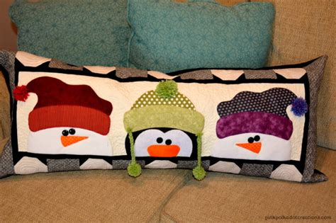 Pillows For Benches by Winter Bench Pillow Pink Polka Dot Creations