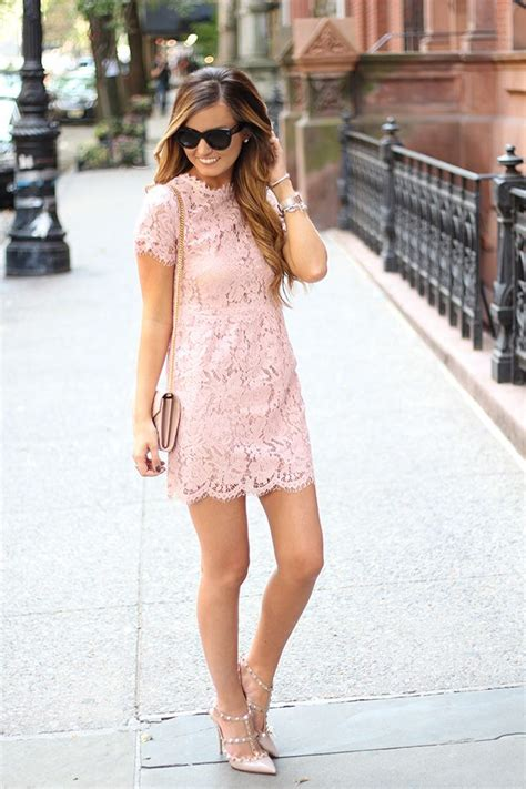 17 best ideas about pink lace dresses on pink