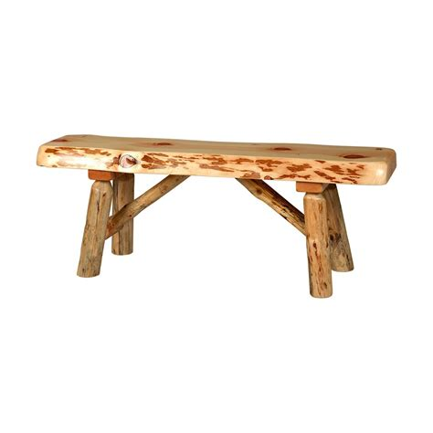 rustic pine bench rustic pine bench king dinettes
