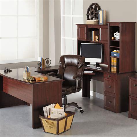 Week 4 Furniture Deals Realspace Broadstreet Contoured U Shaped Desk