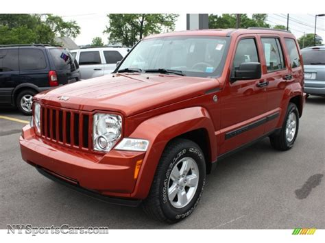 red jeep liberty 2009 2009 jeep liberty red 200 interior and exterior images