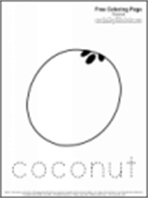 printable coconut tree template coconut coloring printable coloring pages