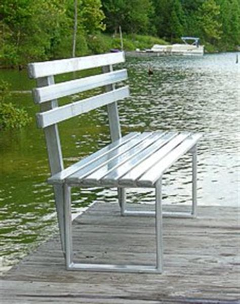 aluminum step bench pro step prostep 6 foot aluminum bench for boat docks parks lawns