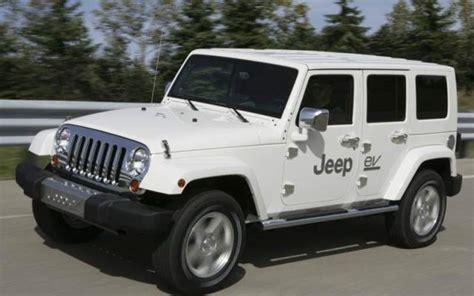 Hybrid Jeep Wrangler Un Jeep Wrangler Hybrid En Fase De Desarrollo Coches Usa