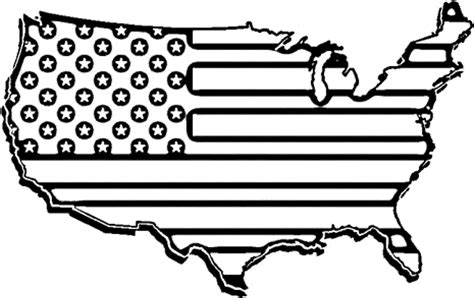 black and white american flag clipart clipartsgram com