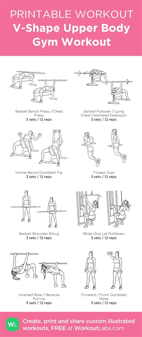 printable workout plan for the gym 17 best images about printable workouts on pinterest