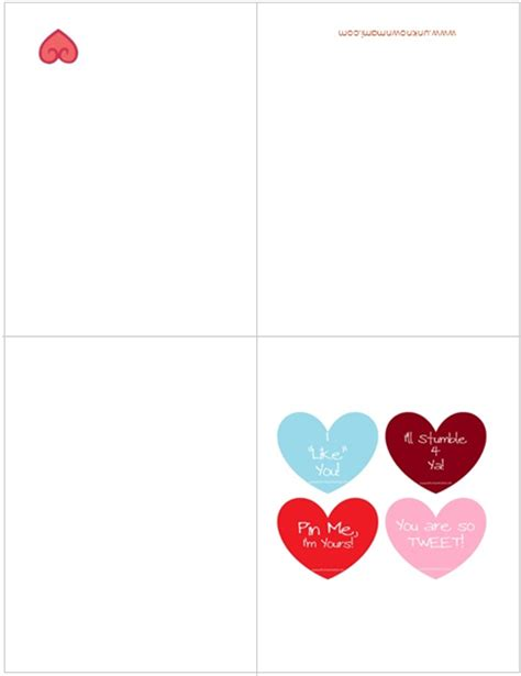 printable valentines day cards free free valentine s day cards printable unknown mami