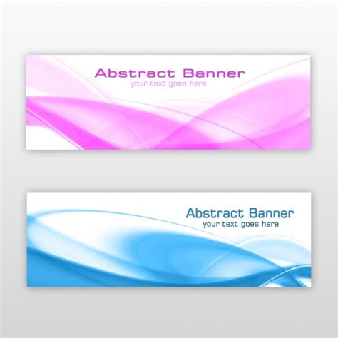 design banner free download abstract banners design psd file free download