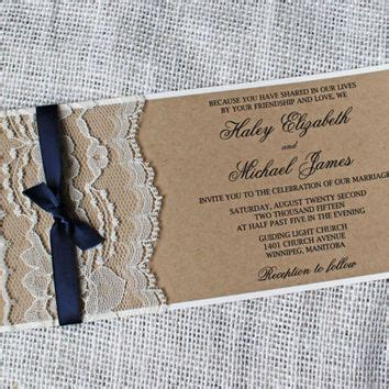 photo wedding invitation sles sale rustic wedding invitation lace from of creati