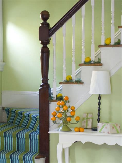 10 ideas for stairs with carpet runners diy